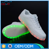 رجال نساء مضيئة مضيئة ضوء [لد] حذاء رياضة مع [أوسب] يحمّل أحذية
