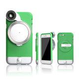De mobiele Foto van de Lens van Smartphone van de Telefoon de StereoLens van de Camera van de Visie het Geval van de Rugdekking voor iPhone 6 6s 6 plus