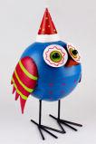 OEM Design Atacado Metal Garden Ornaments Decoração de pássaros
