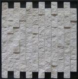 Baumaterial ---Streifen-Natur-Marmor-Mosaik (FYSSD002)