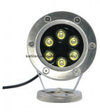 Boat Light Pool Light를 위한 DC24V 6W Underwater Marine Blue LED Light