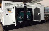 generador diesel silencioso 550kVA espera de 500kVA 400kw Cummins