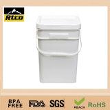 プラスチックPail、HandleのPlastic Barrel