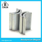 Magneet NdFeB van de Vorm van de Boog van de douane de Sterke Permanente voor de Motor van gelijkstroom