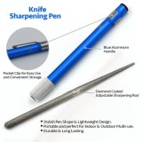 Faca Sharpener 3 Stage & 3 in-1 Pocket Pen Shape Retractable Sharpener