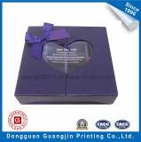 Коробка подарка бумаги конструкции высокого качества уникально с прозрачным окном