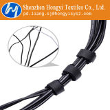 Черные регулируемые связи крюка и кабеля петли