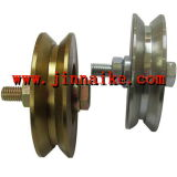 Motor Gate Wheel mit O Groove, Double Bearings