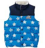 昇華印刷の子供のパッドを入れられたベストの袖なしのジャケット