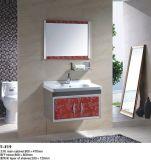 Module de salle de bains d'acier inoxydable de couleur d'or