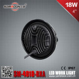 4 duim 18W (6PCS*3W) Round CREE LED Car Work Driving Light met Ce RoHS (sm-4018-RXA)