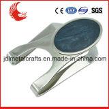 卸しで刻まれるレーザーが付いているカスタムステンレス鋼のお金クリップ