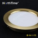 3개의 색깔 유효한 Ultrathin 라운드 LED는 아래로 점화한다