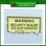 Стикер /Destructible стикера горячего сбывания утлый/стикер Eggshell для электронного