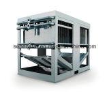 Канал нештатной конструкции широкий теплообменного аппарата блока испарительного охлаждения