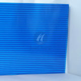 PC helada Hollow Sheet de Blue Polycarbonate de Bayer Material