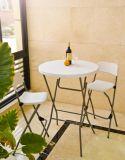 80cm 둥근 바 테이블, Outdoortable 의 접의자