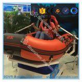 Realidad virtual del equipo de la diversión del agua de 2016 Portable que transporta el simulador en balsa para la venta