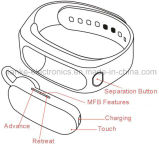 2016 최신 스포츠 분리되는 Bluetooth 지능적인 팔찌