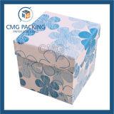 Rectángulo de papel del regalo de papel de la joyería con la impresión del punto (CMG-PJB-020)