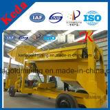 Macchina potabile del crivello a tamburo dell'oro della macchina di buona qualità della Cina Keda