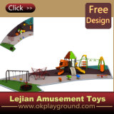 Nouvelle conception Kids Outdoor Playground Slide (X1501-1)