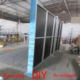Cabine reusável portátil modular personalizada da exposição da tela