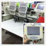 Alta qualità, High Speed Double Heads Cap Embroidery Machine, Commercial Machine con Sequin & Boring Device (WY902C/WY1202C)