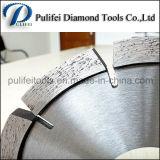 O círculo do granito das ferramentas da pedra de China considerou o segmento da estaca do diamante da lâmina