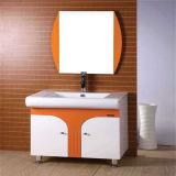 Pavimento di prezzi non Xerox che si leva in piedi vanità della stanza da bagno del PVC