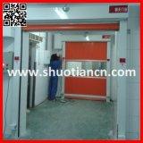 Дверь PVC высокоскоростной завальцовки нутряная автоматическая (ST-001)