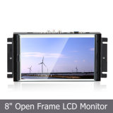 "8 "" Frame ouvert Industrial Touch Monitor pour Medical/POS Application"