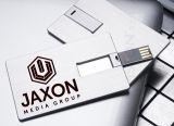 Gli azionamenti del USB della carta di credito, la memoria della scheda del metallo, la memoria di scheda del metallo, memoria della scheda del carbonilico di metallo, colore completo hanno stampato