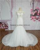 Платье сексуального шнурка втулки краткости Mermaid Bridal