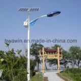 indicatore luminoso solare del giardino della via Parte-Montato batteria di 30W 6m