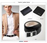 Cinghie alla moda degli uomini della pelle bovina dell'inarcamento di Pin di metallo della cinghia di cuoio