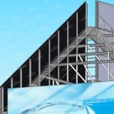Panneau-réclame de publicité léger galvanisé d'endroit de structure métallique de trois côtés