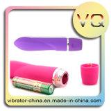 Vibrateur à plusieurs vitesses imperméable à l'eau de 7 fonctions de modèle simple pour des femmes