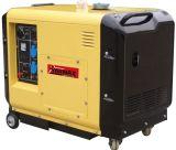 Tipo silenzioso raffreddato aria generatore diesel portatile