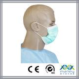 Chirurgische nichtgewebte Wegwerfgesichtsmaske genehmigte mit Cer-Bescheinigung (MN-8013)