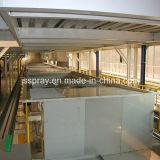 Linha de produção da eletroforese para as peças do barramento
