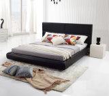 홈 또는 호텔 (LB-005)를 위해 놓이는 상한 진짜 가죽 침대