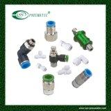 Air pneumatique ajustant les connecteurs Puc08 pneumatiques