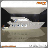 Material de aluminio modular de la cabina de la feria profesional para el soporte de la exposición