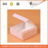 Caisse d'emballage de estampage chaude personnalisée de papier d'art de modèle
