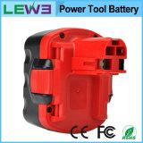 Batterie portative de machine-outil Ni-MH pour Bosch 14.4V 3.0mAh Bat038