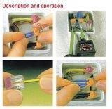 Conetor rápido de encaixe da lâmpada do fio do impulso do bloco terminal da mola