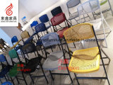 Alta calidad Steel Frame Plastic Mesh Chair para Folding