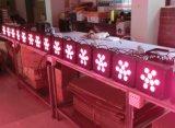 Плоский свет диско снабжения жилищем 9X15W Rgbawuv беспроволочный