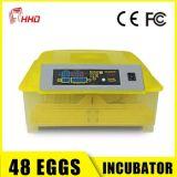 Incubator van het Ei van Hhd de Beste Verkopende Automatische Mini voor 48 Eieren in Bevordering